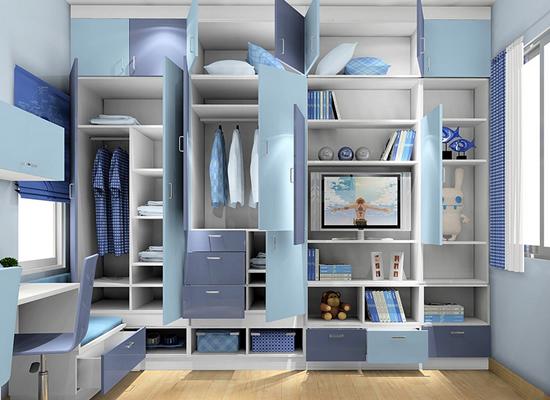 简易木衣柜安装步骤图